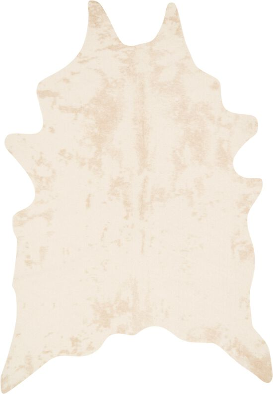 """Transitional 3'-10""""x5' Rug in Ivory"""