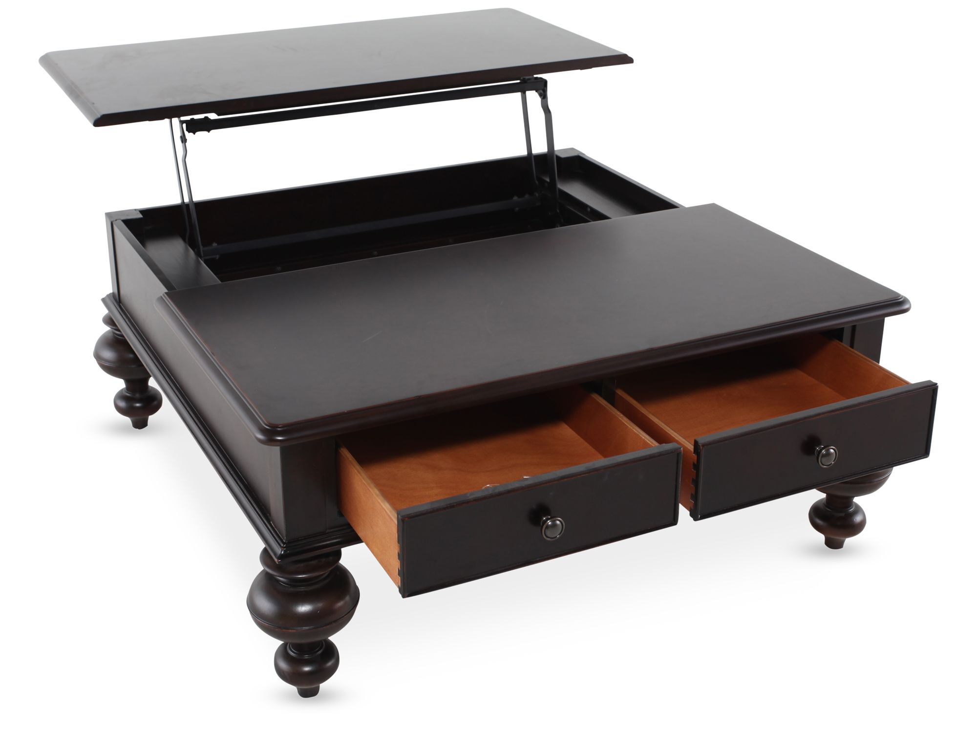 Two Drawer Country Cocktail Table ...