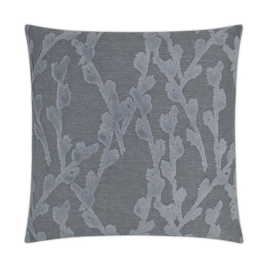 Fortuna Pillow in Steel Blue