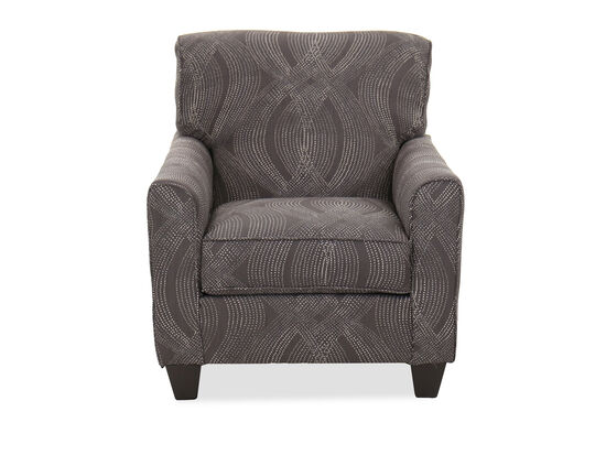 Casual 34'' Accent Chair in Gray