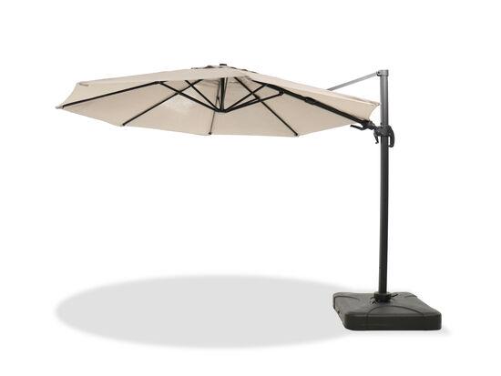Casual Cantilever Tilt Umbrella in Beige