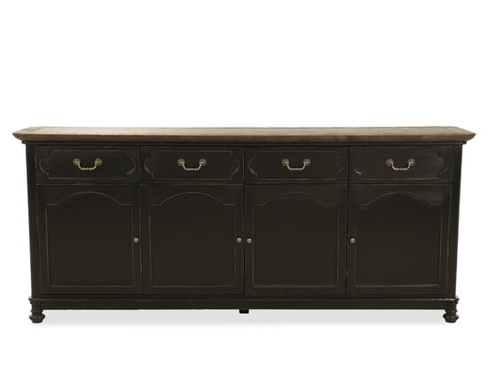 Four-Door Credenza in Brown