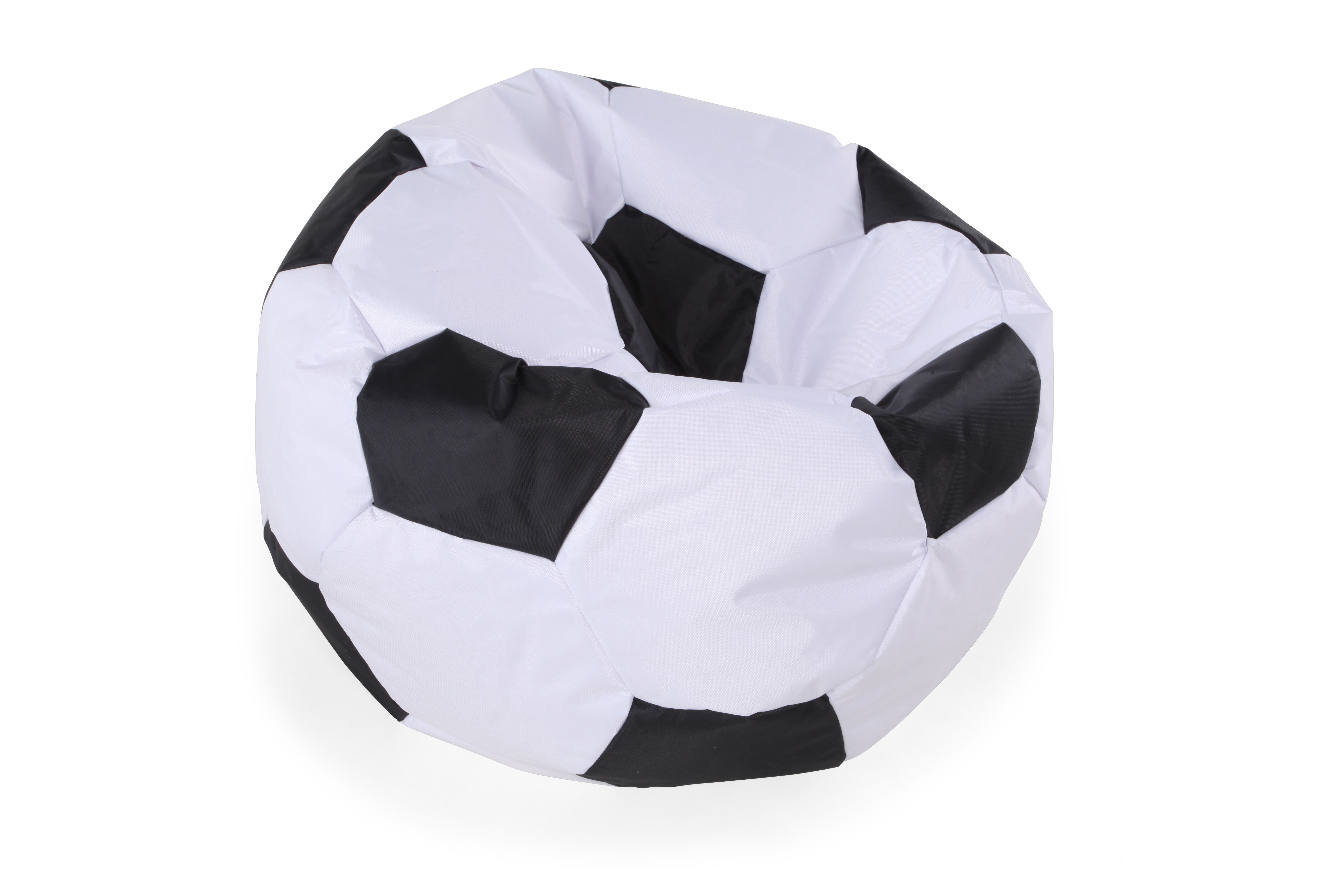 Genial Images Casual Soccer Ball Youth Bean Bag Chair In White Casual Soccer Ball  Youth Bean Bag Chair In White