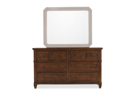 "38"" Six-Drawer Transitional Dresser in Sienna"