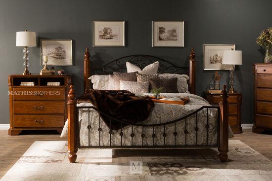 Ashley Wyatt California King Bed