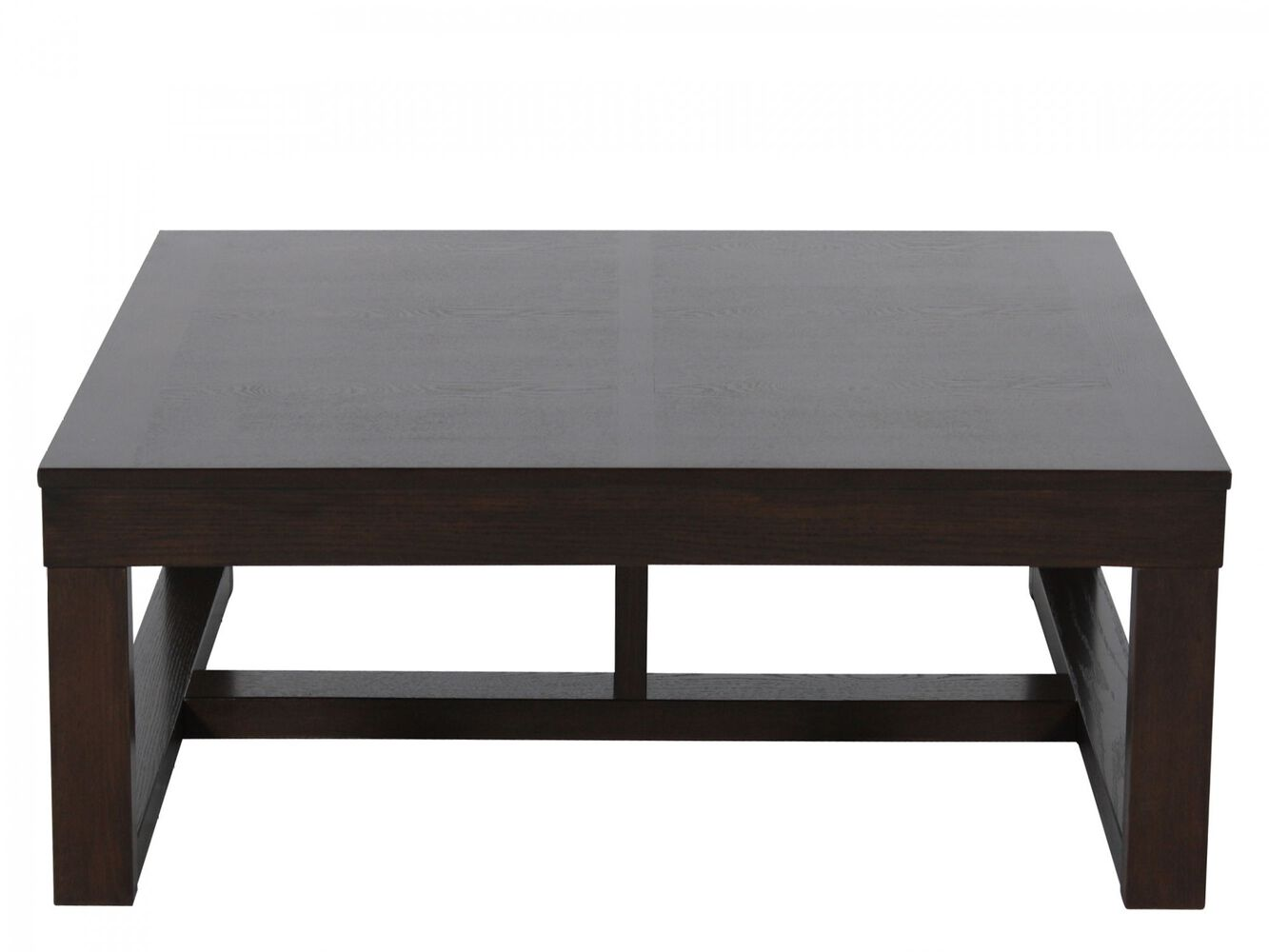 Scrolled metal and wood coffee table - Ashley Watson Cocktail Table