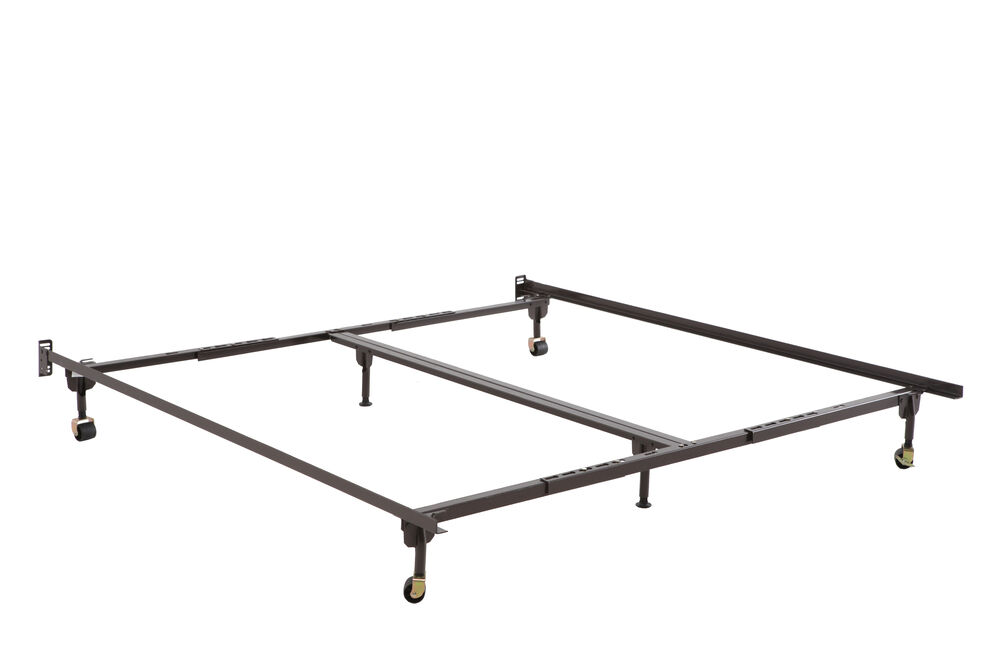 Glideaway Queen/King Bed Frame with 6 Legs | Mathis Brothers
