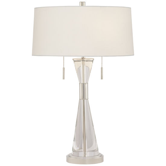 Crystal Carriage Table Lamp