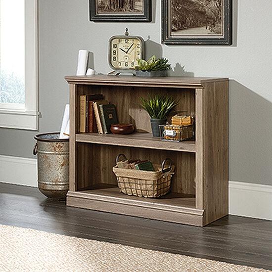 Contemporary Adjustable Shelf Bookcase in Salt Oak