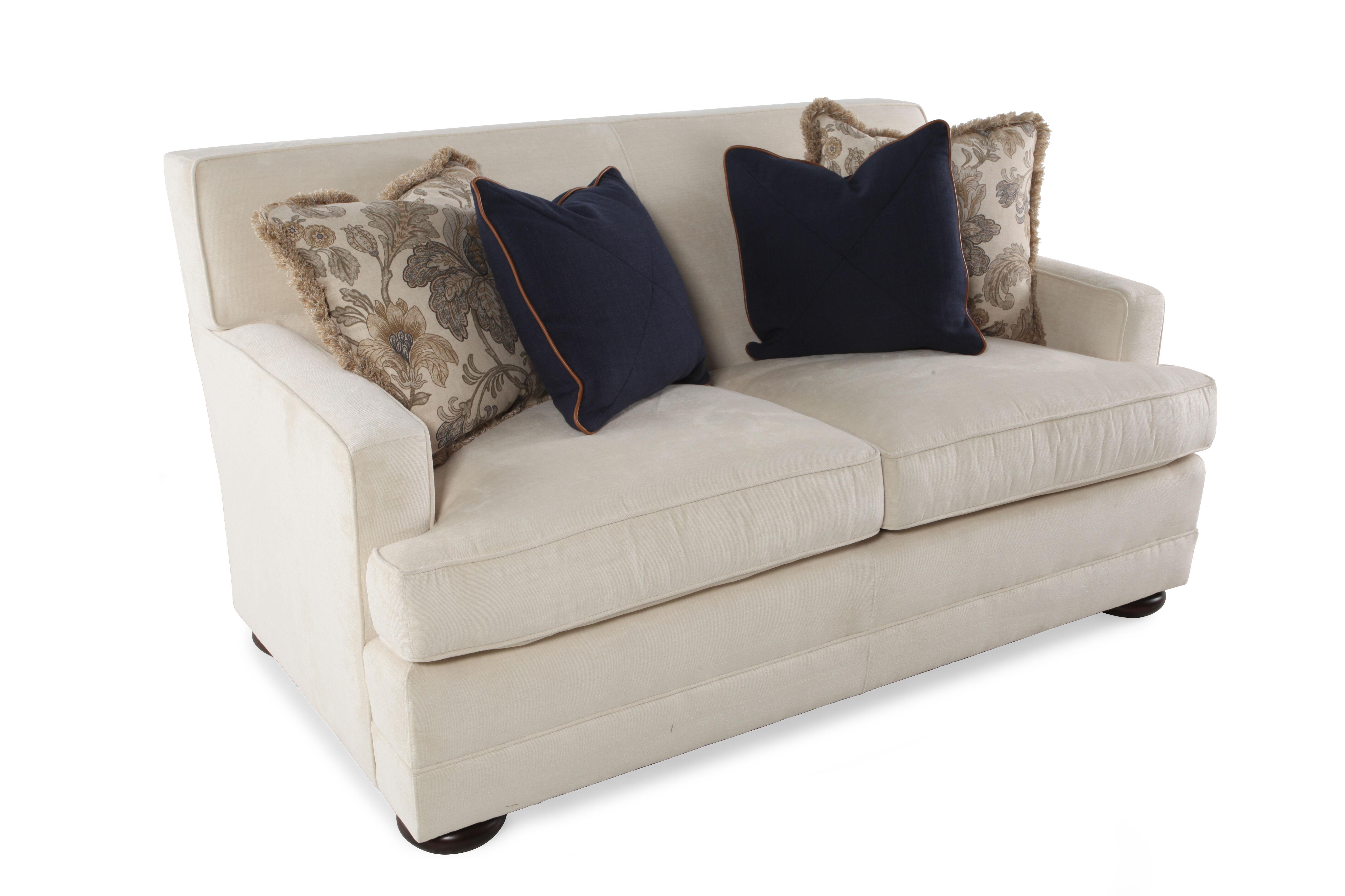 ... Contemporary 71u0026quot; Short Sofa ...