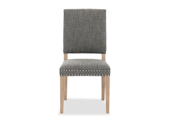 """Contemporary 39"""" Dining Chair in Gray"""