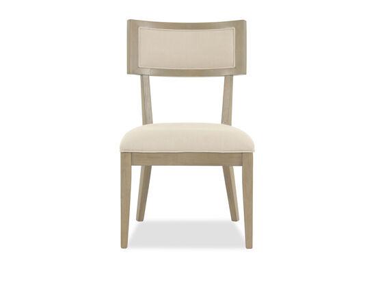 Modern 38'' Side Chair in Beige