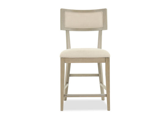 "Modern 42""Armless Bar Stool in Beige"