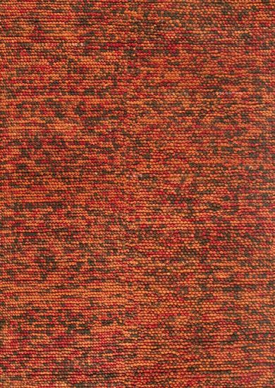 "Contemporary 5'-0""x7'-6"" Rug in Rust/Brown"