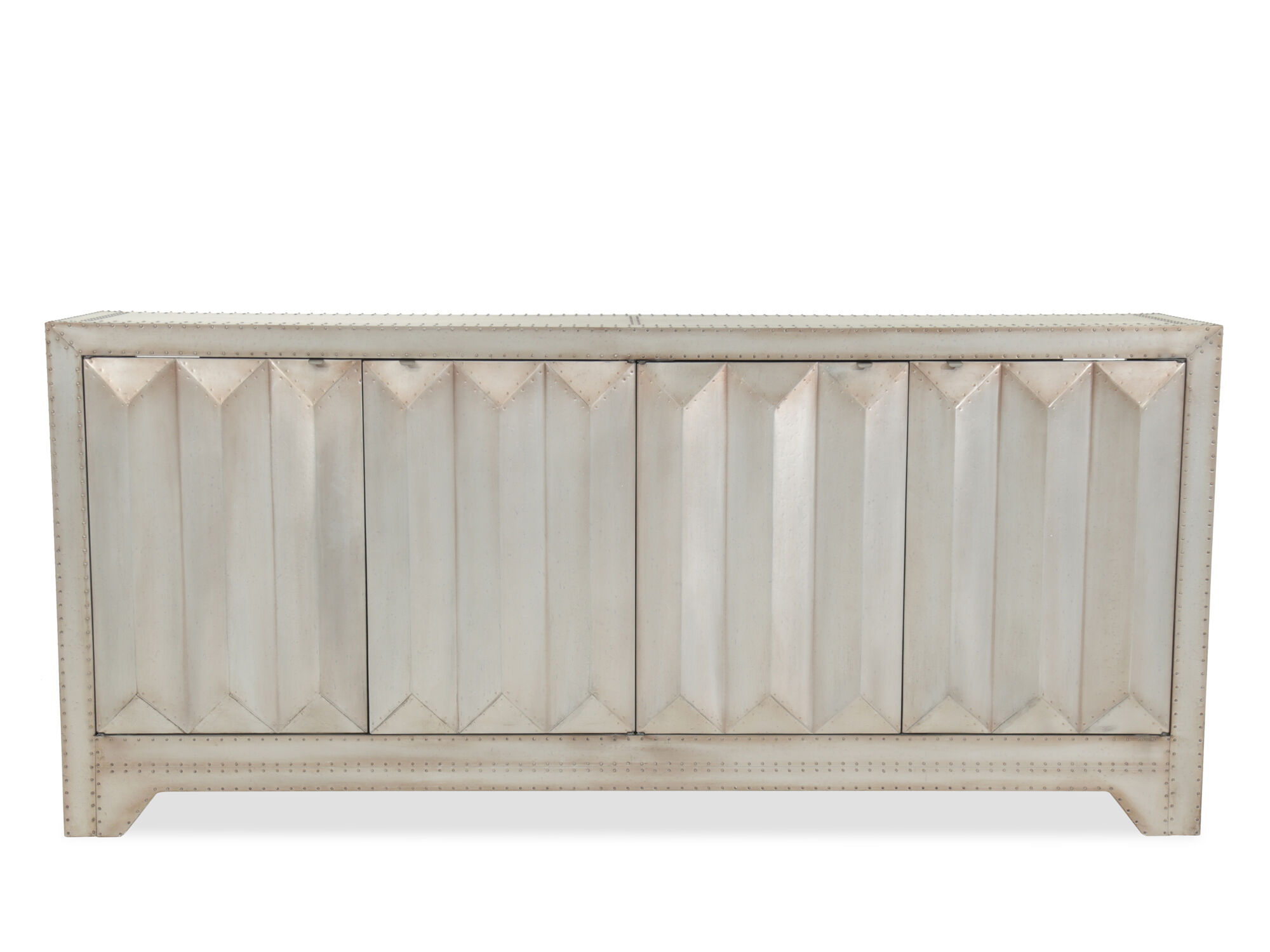 Credenza Contemporary : Entertainment credenza contemporary art deco credenzas dering hall