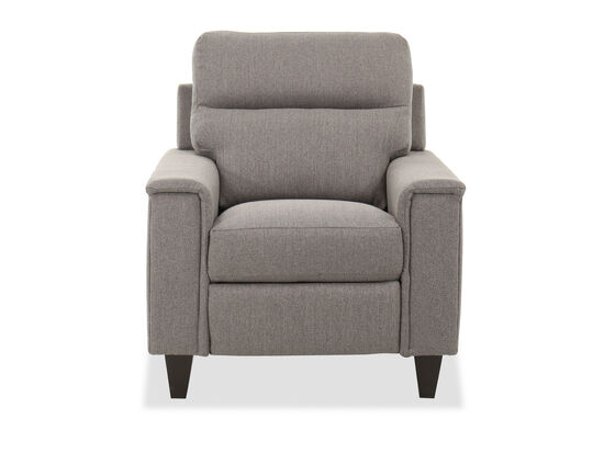 "37"" Contemporary Power Recliner Chair in Gray"