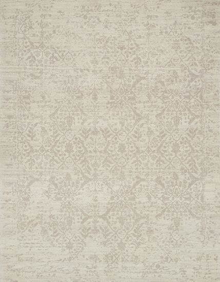 "Transitional 2'-3""x4'-0"" Rug in Ivory"