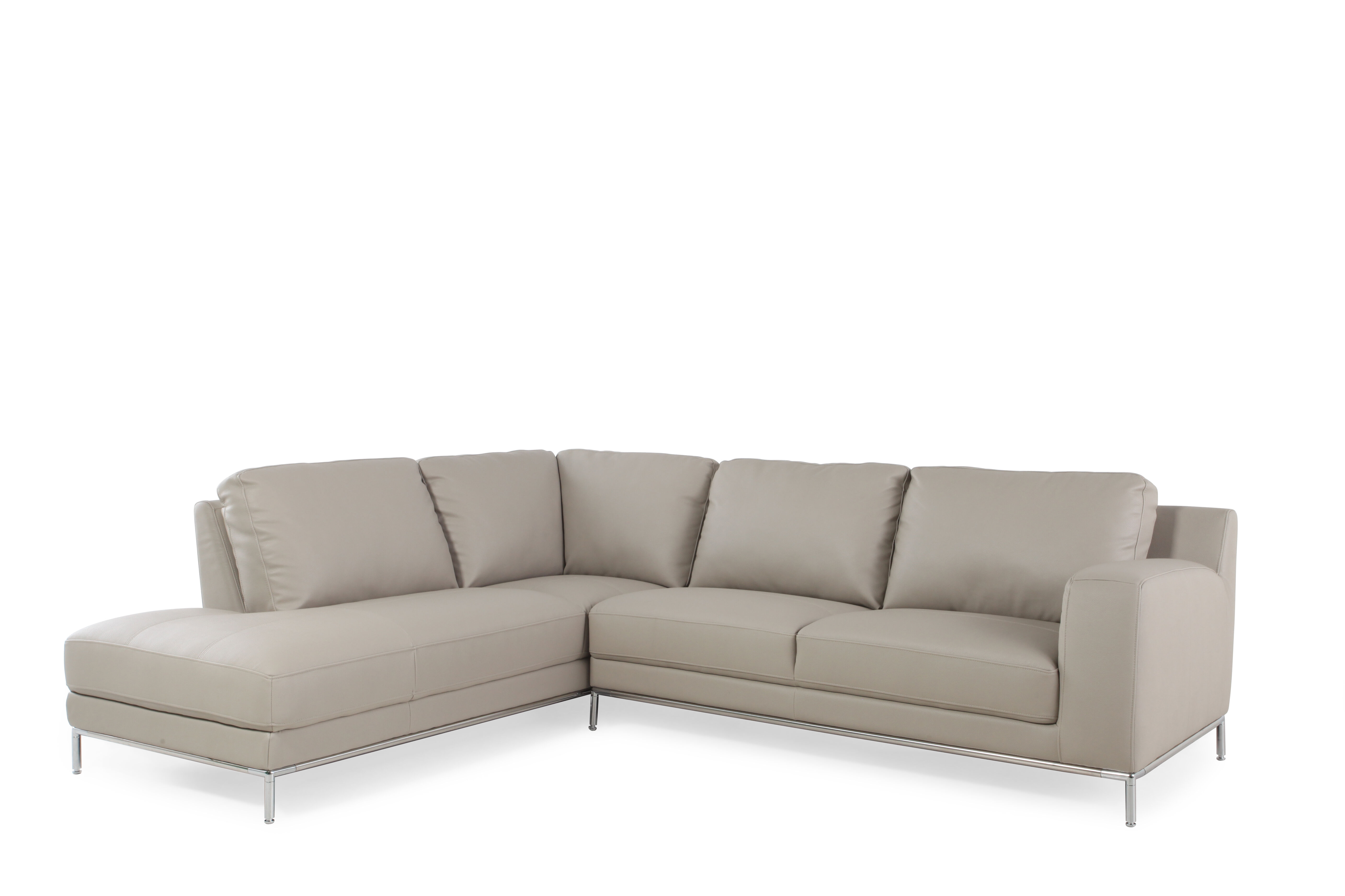 Boulevard Warm Stone Two Piece Sectional