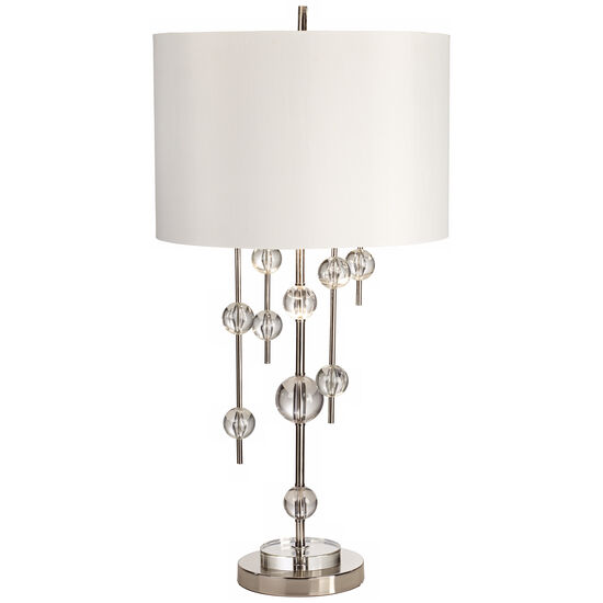 New York Mod Lamp in Polished Nickel