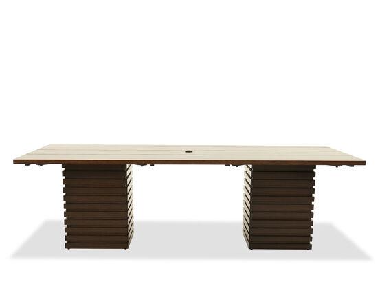 Rectangular Dining Table in Ebony