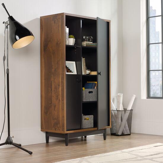 60'' Two-Door Casual Storage Cabinet in Walnut