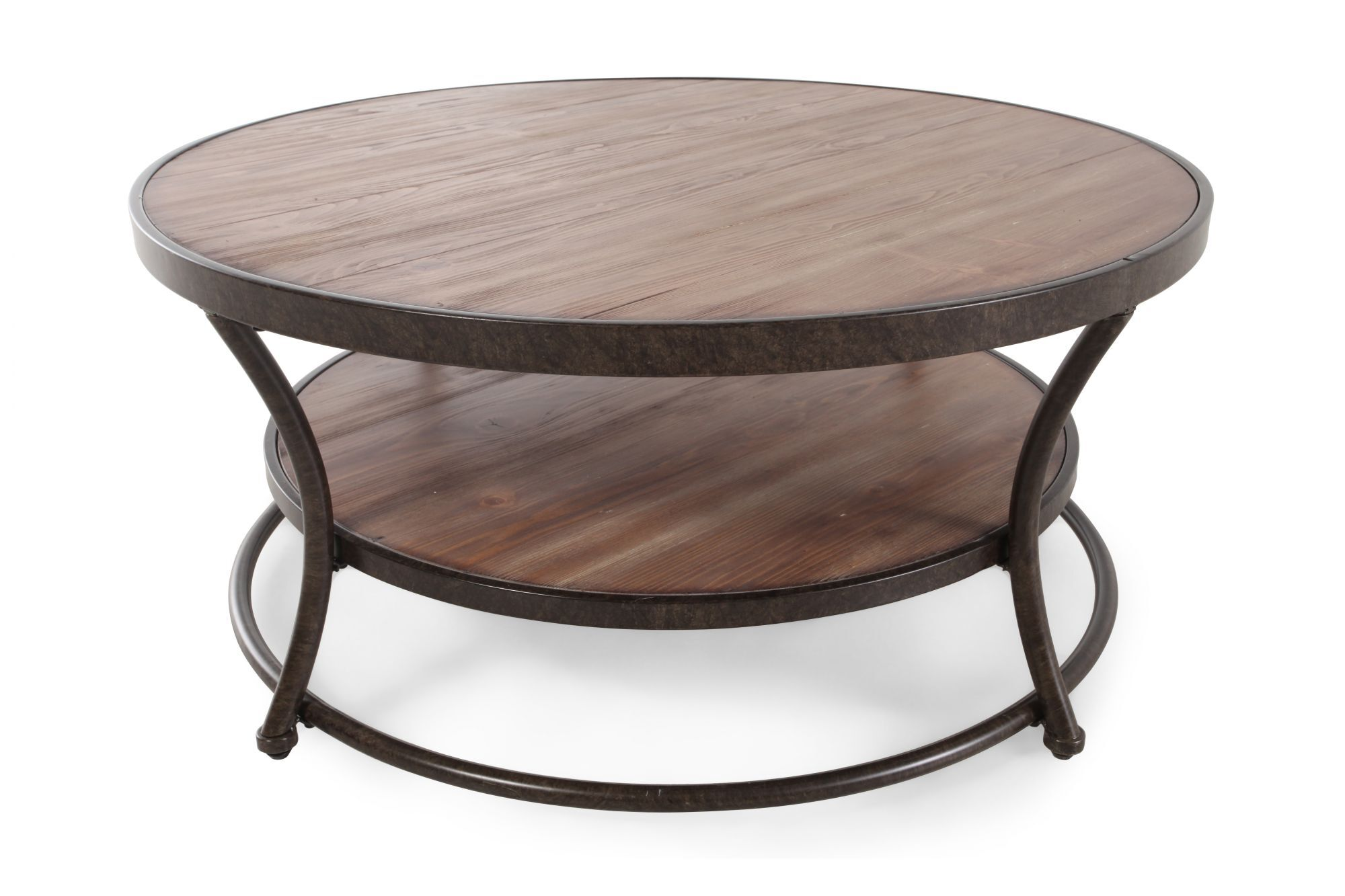 Tea Chest Coffee Table Part - 43: Ashley Nartina Round Cocktail Table