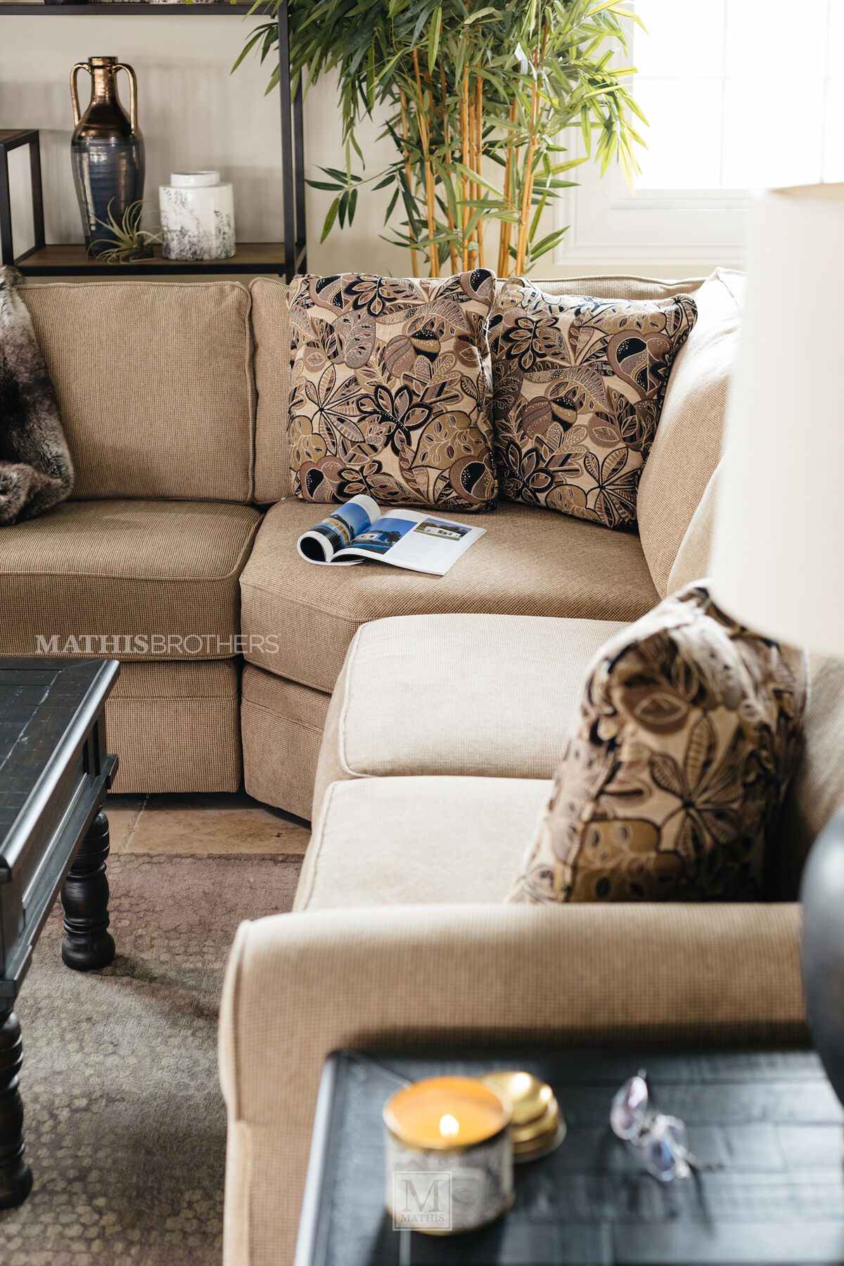 Broyhill Veronica Sand Sectional video : broyhill veronica sectional - Sectionals, Sofas & Couches