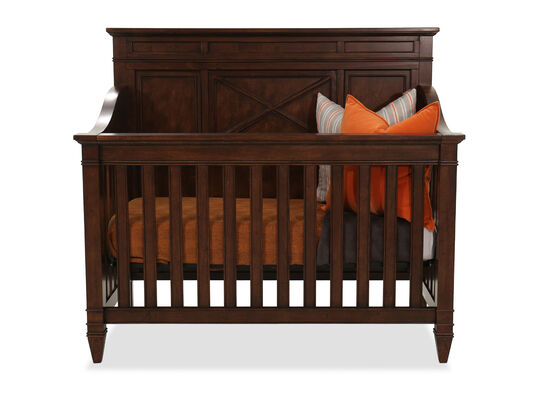 Slatted Transitional Sonama Crib in Brown