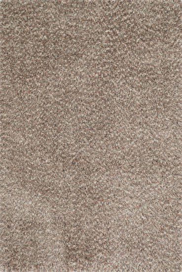 "Contemporary 7'-6""x9'-6"" Rug in Light Brown/Multi"