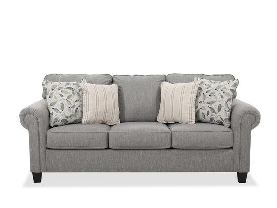 "Casual 90"" Sofa in Gray"