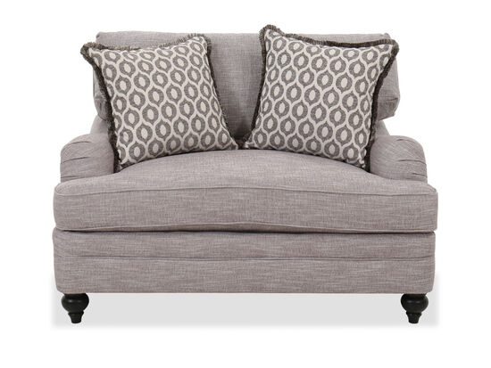 """Casual 54.5"""" Chair & a Half in Gray"""