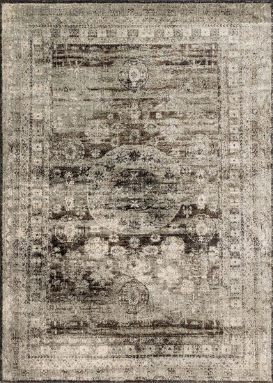 "Transitional 2'-7""x4' Rug in Granite"