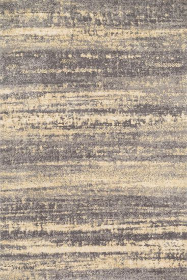 "Contemporary 5'-0""x7'-6"" Rug in Grey/Gold"