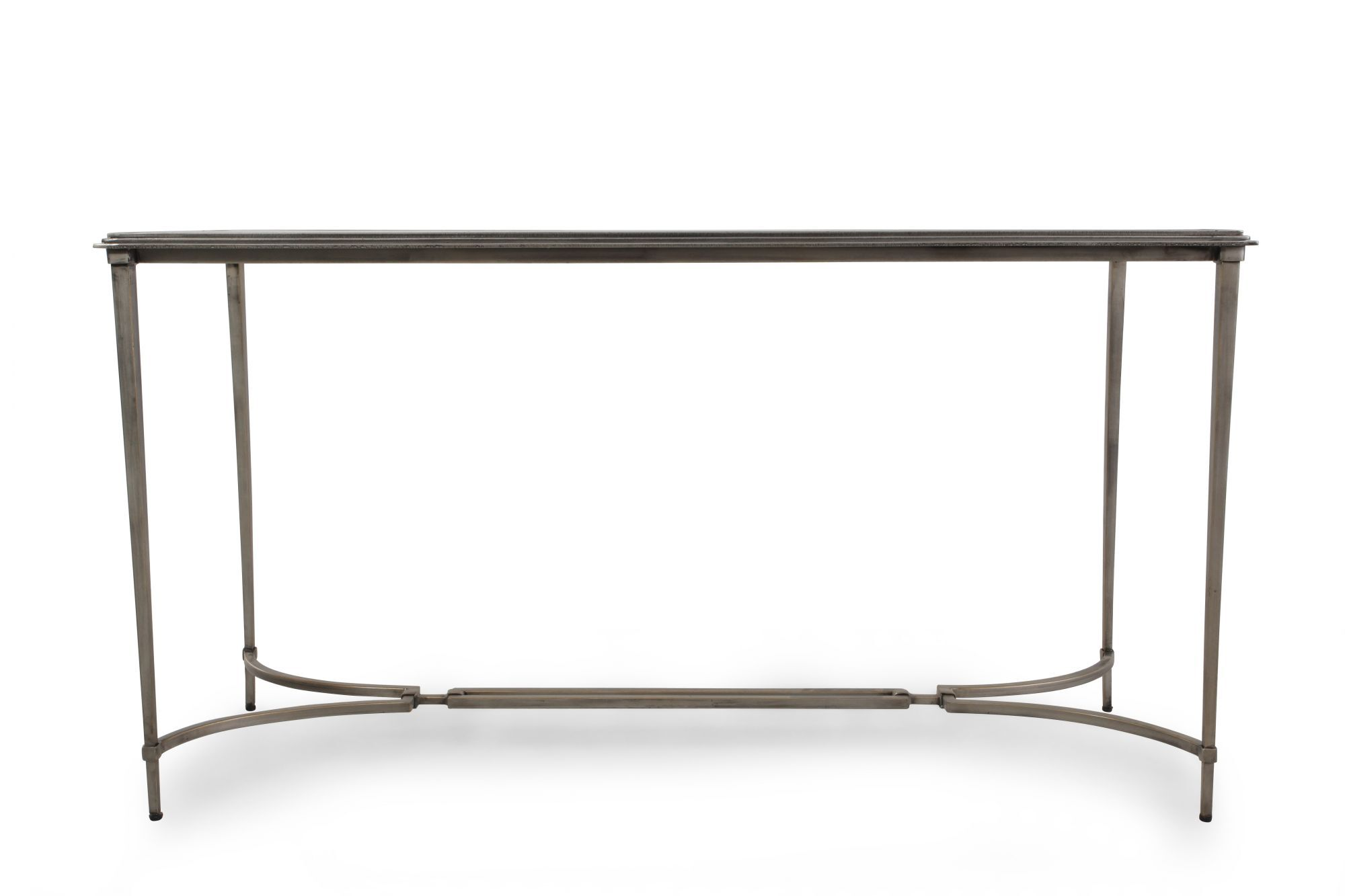 Images Glass Top Contemporary Console Table In Silver Glass Top  Contemporary Console Table In Silver