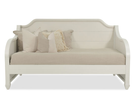 Raised Panel Youth Daybed in White