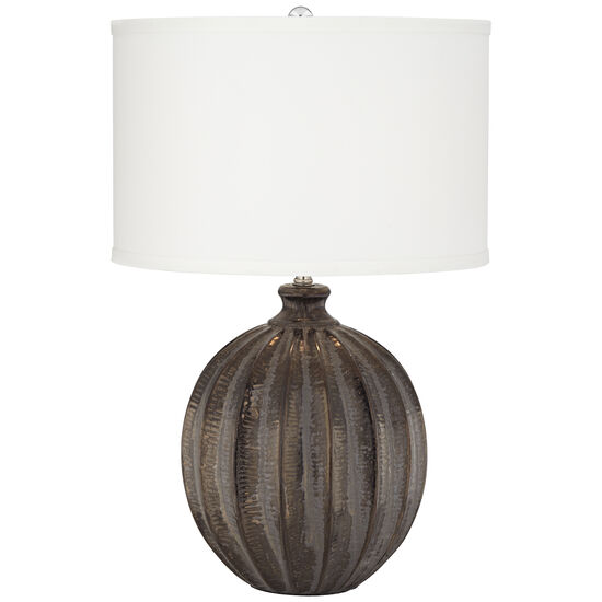 Antique Black Glaze Ball Lamp