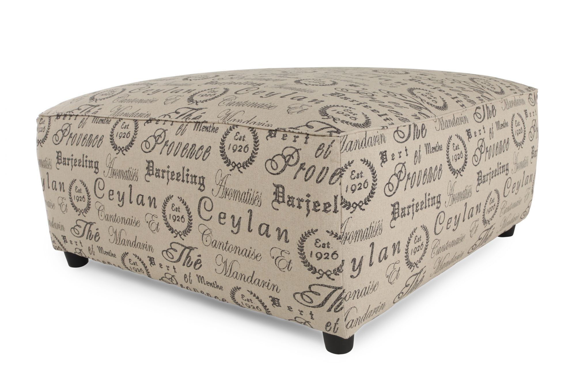 Scripted Casual 40u0026quot; Accent Ottoman ...