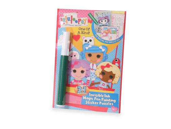 Lalaloopsy Magic Pen Book