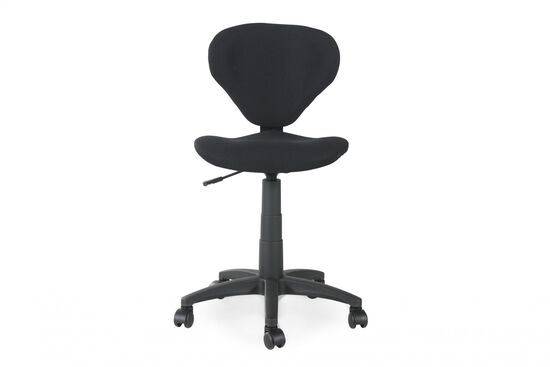 Swivel Tilt Task Chair in Black