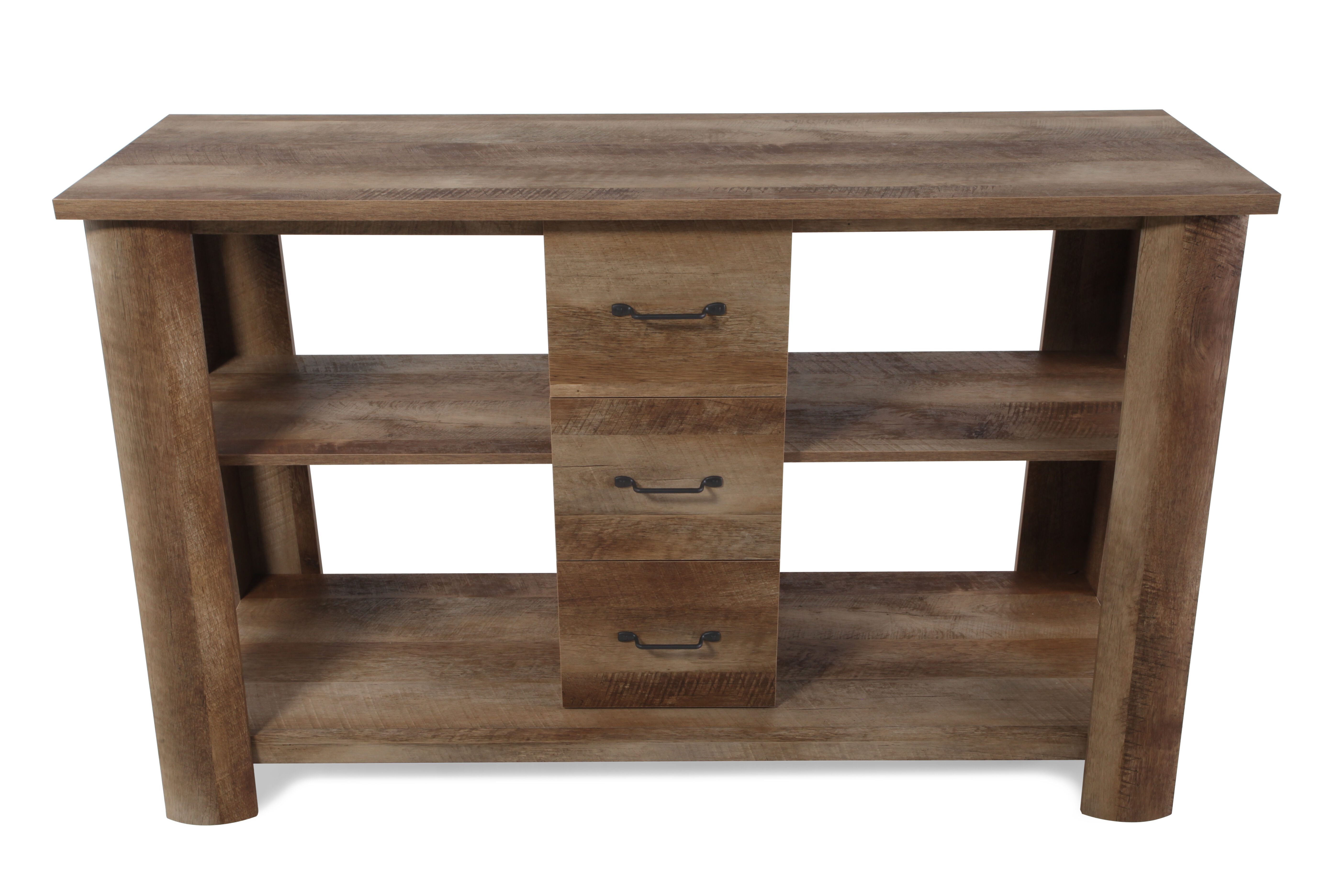 Dark Wood Tv Credenza : Entertainment centers tv stands media consoles cabinets