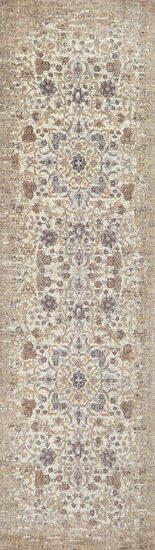 Traditional Power-Loomed 8 x 10 Rectangle Rug in Breige