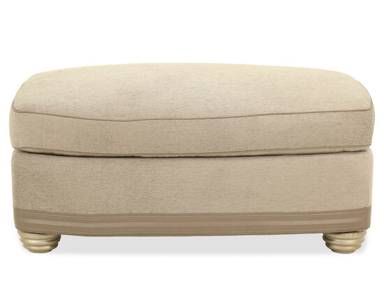 Casual 40'' Ottoman in Pewter