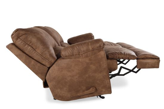 Reclining Traditional 68 Quot Loveseat In Caramel Mathis