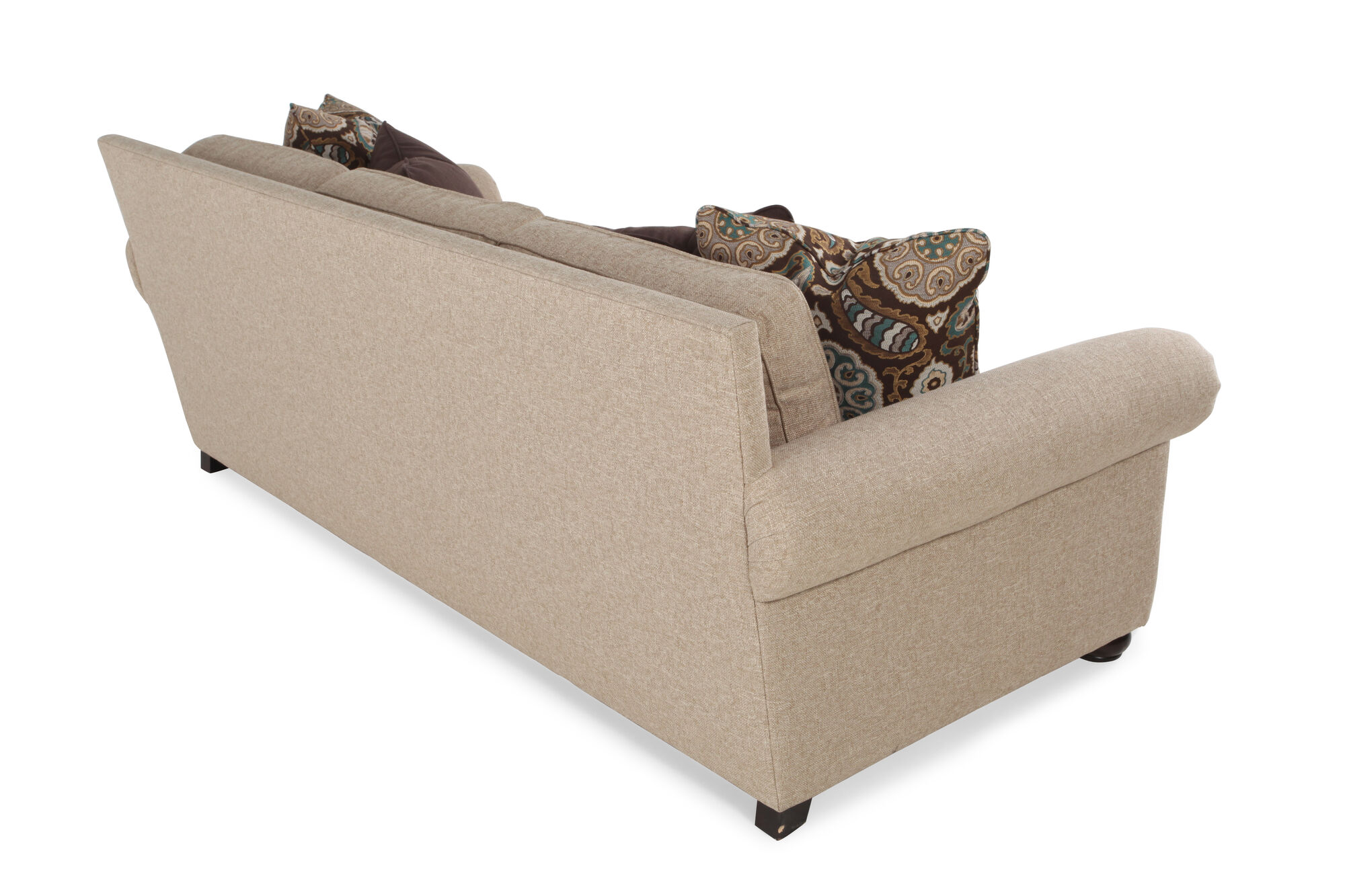 High Profile Nailhead Accented 96 Sofa