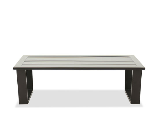 Rectangular Coffee Table in Brown