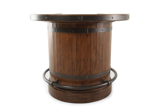 """39"""" Traditional Riveted Barrel Bar in Brown"""