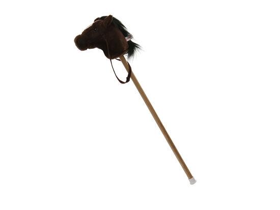"""37"""" Giddie Up Pony in Dark Brown"""