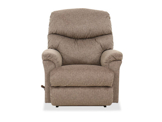 Casual 37'' Rocking Recliner in Biscotti