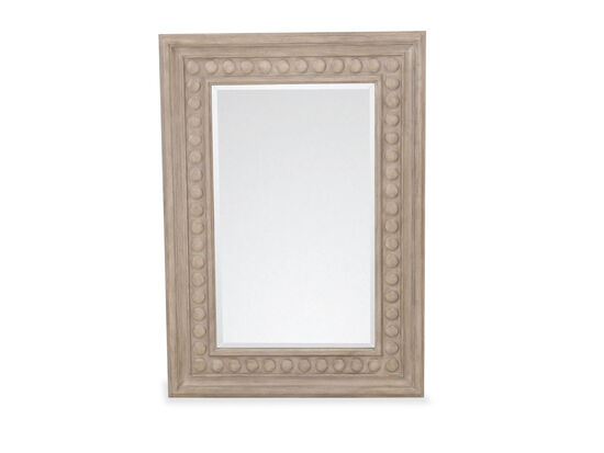 Casual Rectangular Mirror in Mocha