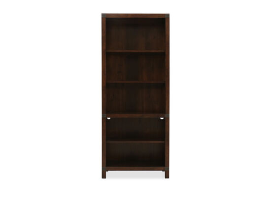 "32"" Traditional Open Bookcase in Cognac"
